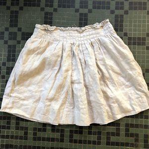 J. Crew Linen Skirt Size 2